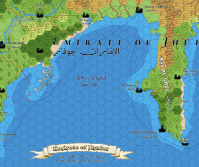 Emirate of Jhufar Hex Map