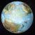 A preliminary test of Jurassic Mystara on the globe, using the 2016 model