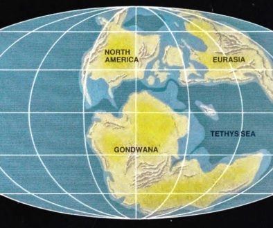 Jurassic Earth from Continents in Collision